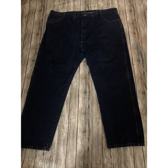 Rustler Mens Relaxed Fit Jeans 48x30